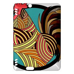 Rooster Poultry Animal Farm Kindle Fire Hdx Hardshell Case