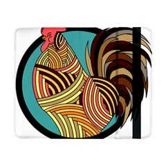 Rooster Poultry Animal Farm Samsung Galaxy Tab Pro 8 4  Flip Case