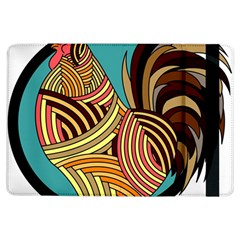 Rooster Poultry Animal Farm Ipad Air Flip