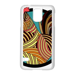 Rooster Poultry Animal Farm Samsung Galaxy S5 Case (white)