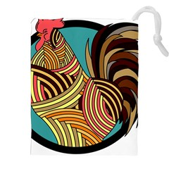 Rooster Poultry Animal Farm Drawstring Pouches (XXL)