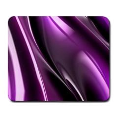 Purple Fractal Mathematics Abstract Large Mousepads