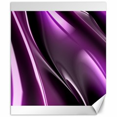 Purple Fractal Mathematics Abstract Canvas 20  X 24