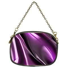 Purple Fractal Mathematics Abstract Chain Purses (one Side)