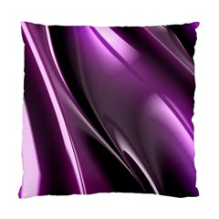 Purple Fractal Mathematics Abstract Standard Cushion Case (one Side)