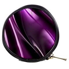 Purple Fractal Mathematics Abstract Mini Makeup Bags