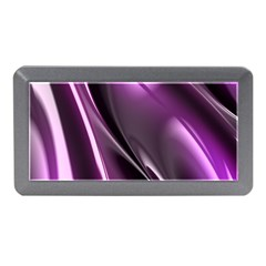 Purple Fractal Mathematics Abstract Memory Card Reader (mini)