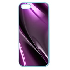Purple Fractal Mathematics Abstract Apple Seamless Iphone 5 Case (color)