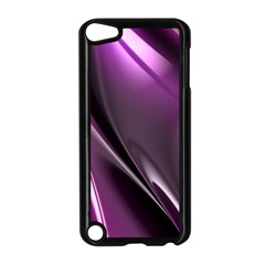 Purple Fractal Mathematics Abstract Apple Ipod Touch 5 Case (black)