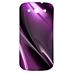 Purple Fractal Mathematics Abstract Samsung Galaxy S3 S Iii Classic Hardshell Back Case