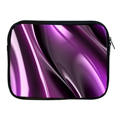 Purple Fractal Mathematics Abstract Apple Ipad 2/3/4 Zipper Cases