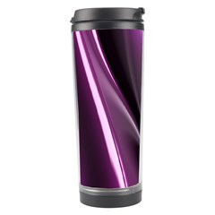 Purple Fractal Mathematics Abstract Travel Tumbler