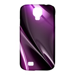 Purple Fractal Mathematics Abstract Samsung Galaxy S4 Classic Hardshell Case (pc+silicone)