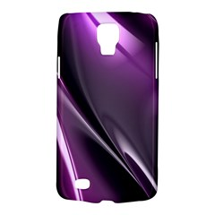 Purple Fractal Mathematics Abstract Galaxy S4 Active