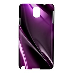 Purple Fractal Mathematics Abstract Samsung Galaxy Note 3 N9005 Hardshell Case
