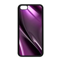 Purple Fractal Mathematics Abstract Apple Iphone 5c Seamless Case (black)