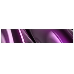 Purple Fractal Mathematics Abstract Flano Scarf (large)