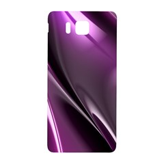 Purple Fractal Mathematics Abstract Samsung Galaxy Alpha Hardshell Back Case