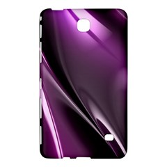 Purple Fractal Mathematics Abstract Samsung Galaxy Tab 4 (7 ) Hardshell Case