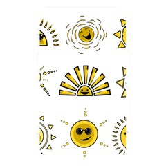 Sun Expression Smile Face Yellow Memory Card Reader