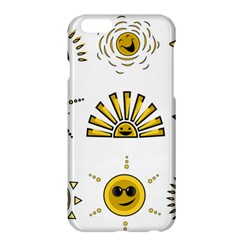 Sun Expression Smile Face Yellow Apple Iphone 6 Plus/6s Plus Hardshell Case