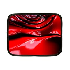 Red Fractal Mathematics Abstract Netbook Case (small)
