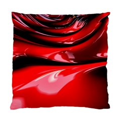 Red Fractal Mathematics Abstract Standard Cushion Case (one Side)