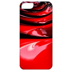 Red Fractal Mathematics Abstract Apple Iphone 5 Classic Hardshell Case