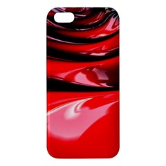 Red Fractal Mathematics Abstract Apple Iphone 5 Premium Hardshell Case