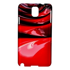 Red Fractal Mathematics Abstract Samsung Galaxy Note 3 N9005 Hardshell Case