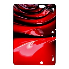 Red Fractal Mathematics Abstract Kindle Fire Hdx 8 9  Hardshell Case