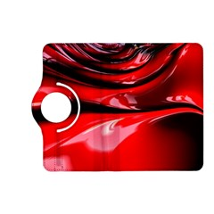Red Fractal Mathematics Abstract Kindle Fire Hd (2013) Flip 360 Case
