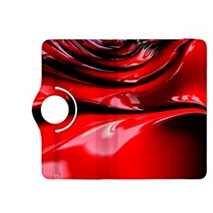Red Fractal Mathematics Abstract Kindle Fire Hdx 8 9  Flip 360 Case
