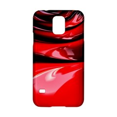 Red Fractal Mathematics Abstract Samsung Galaxy S5 Hardshell Case
