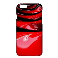 Red Fractal Mathematics Abstract Apple Iphone 6 Plus/6s Plus Hardshell Case