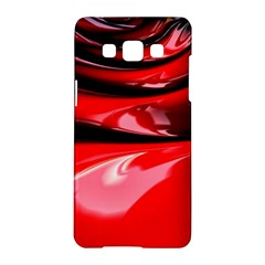 Red Fractal Mathematics Abstract Samsung Galaxy A5 Hardshell Case