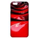 Red Fractal Mathematics Abstract iPhone 6 Plus/6S Plus TPU Case Front