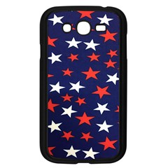 Star Red White Blue Sky Space Samsung Galaxy Grand Duos I9082 Case (black)