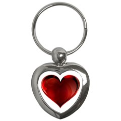 Heart Gradient Abstract Key Chains (heart)