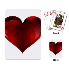 Heart Gradient Abstract Playing Card