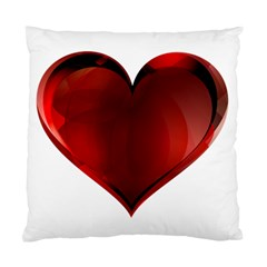 Heart Gradient Abstract Standard Cushion Case (two Sides)