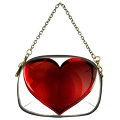 Heart Gradient Abstract Chain Purses (two Sides)