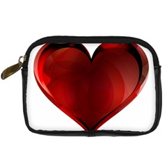 Heart Gradient Abstract Digital Camera Cases
