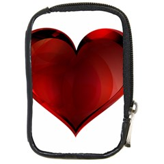 Heart Gradient Abstract Compact Camera Cases