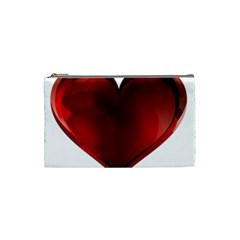 Heart Gradient Abstract Cosmetic Bag (small)