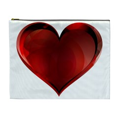 Heart Gradient Abstract Cosmetic Bag (xl)