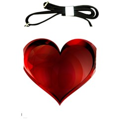 Heart Gradient Abstract Shoulder Sling Bags