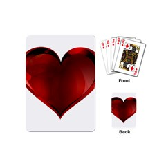 Heart Gradient Abstract Playing Cards (mini)