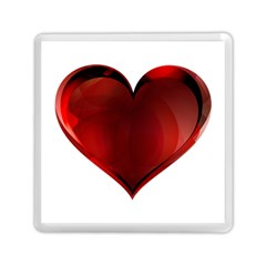 Heart Gradient Abstract Memory Card Reader (square)