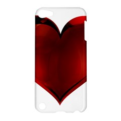 Heart Gradient Abstract Apple Ipod Touch 5 Hardshell Case